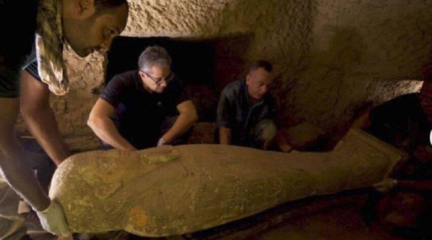 straordinaria scoperta archeologica in egitto
