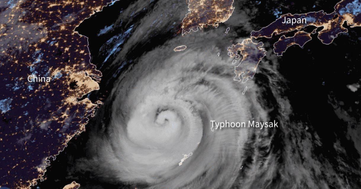 Seri danni in Russia a causa del tifone