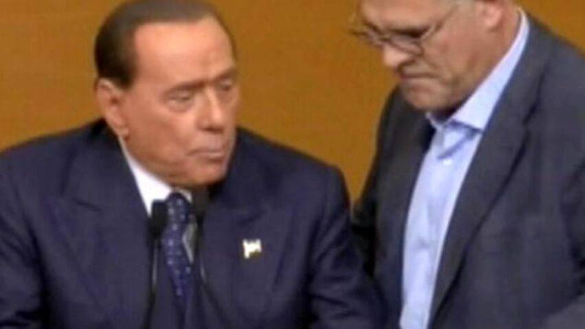 Zangrillo con Berlusconi
