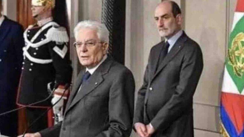 Giovanni Grasso e Mattarella