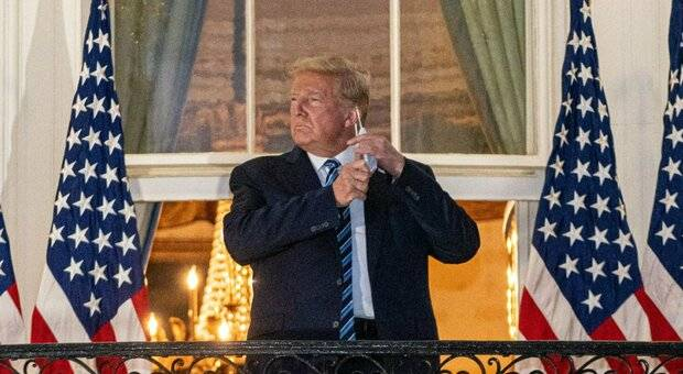Trump e la mascherina