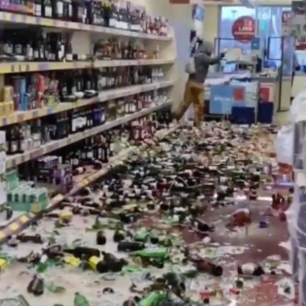 Follia al supemercato
