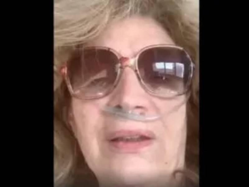 Iva Zanicchi in ospedale