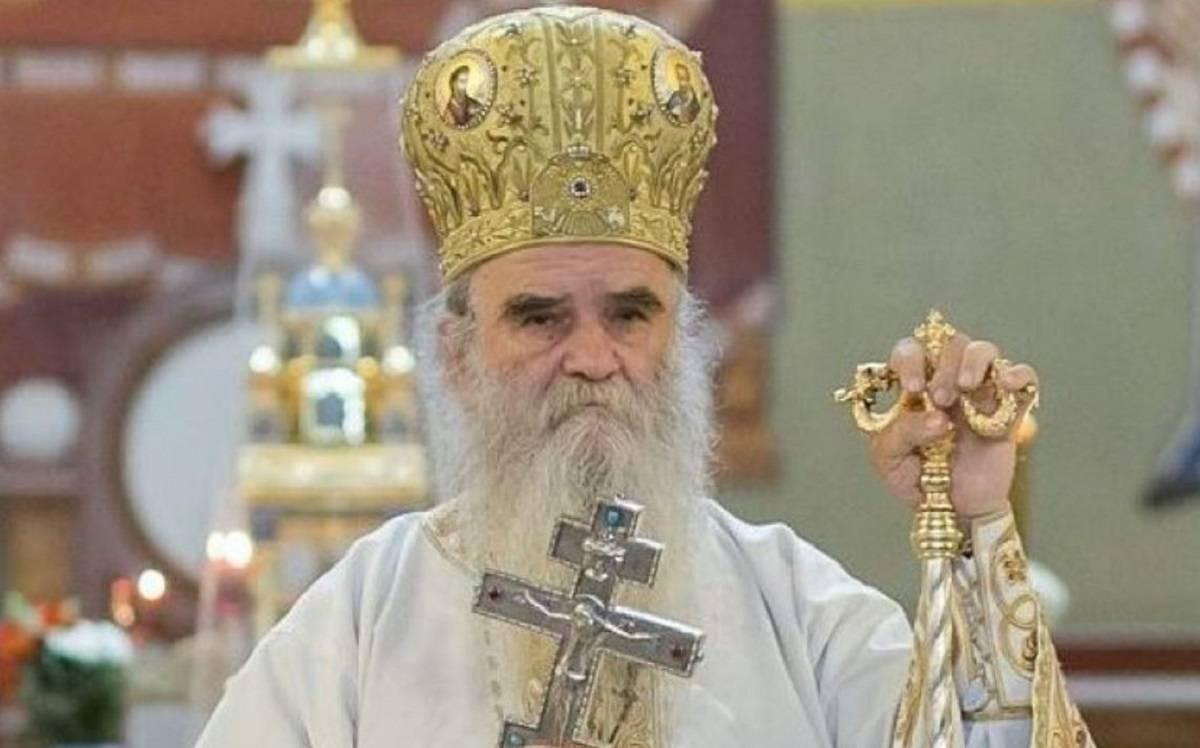 vescovo negazionista contagiato