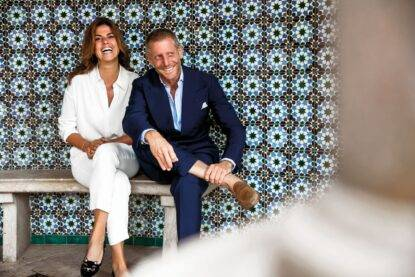Lapo Elkann e Joana Lemos