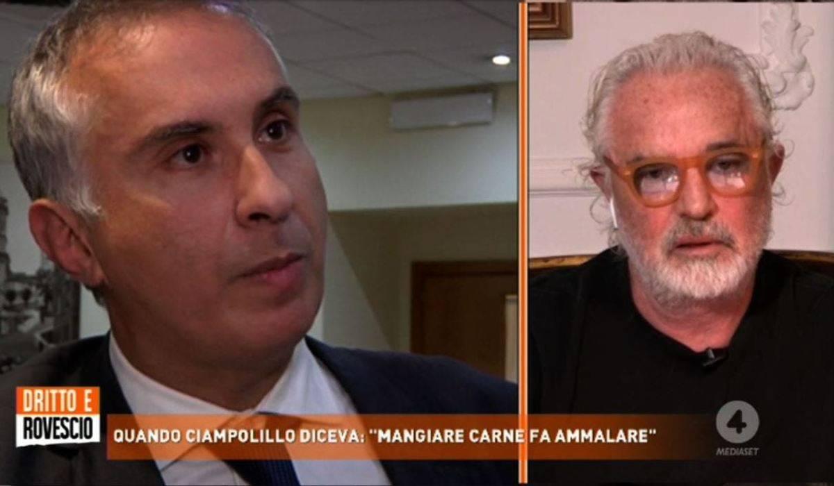 """Flavio Briatore duro su Ciampolillo: """"Questo per me è scemo. Si deve far ricoverare"""""""