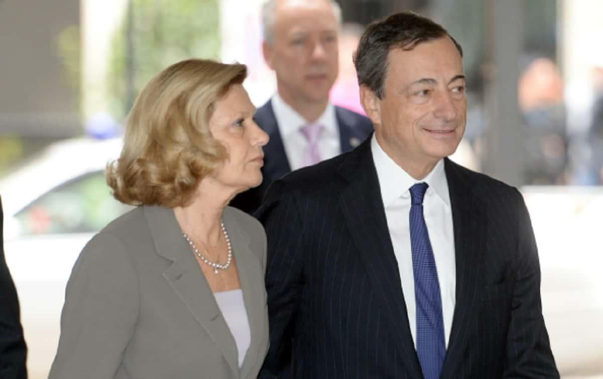 Mario Draghi e Serena Cappello