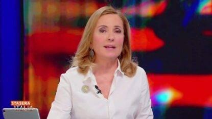 Stasera Italia-Barbara Palombelli