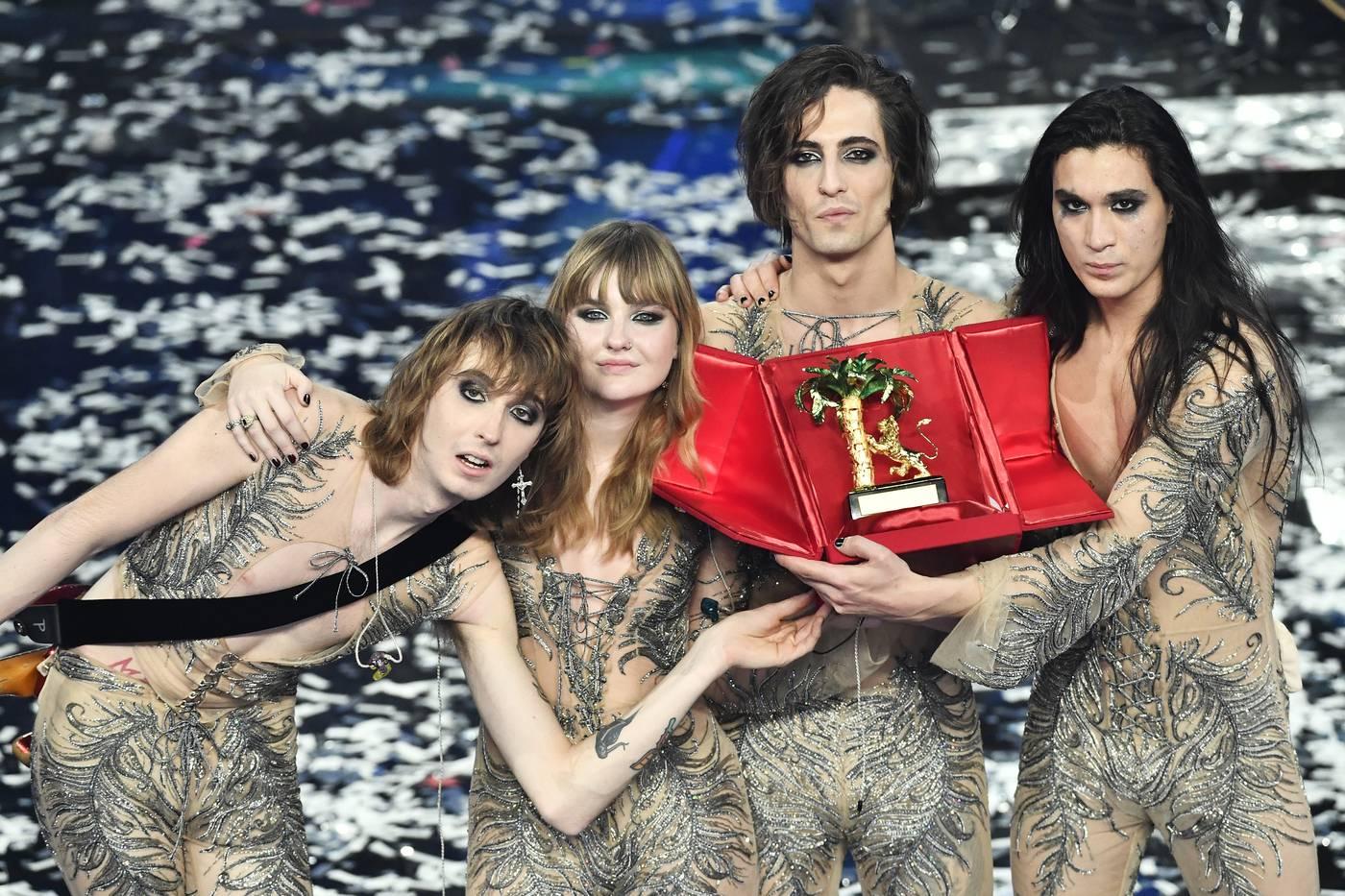 Festival di Sanremo 2021, vincono i Maneskin, secondo posto per Fedez e Francesca Michielin, terzo Ermal Meta