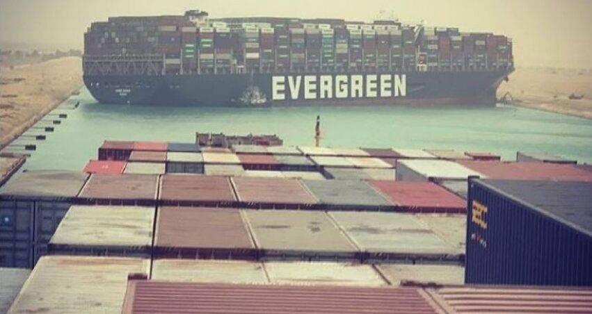 portacontainer bloccata