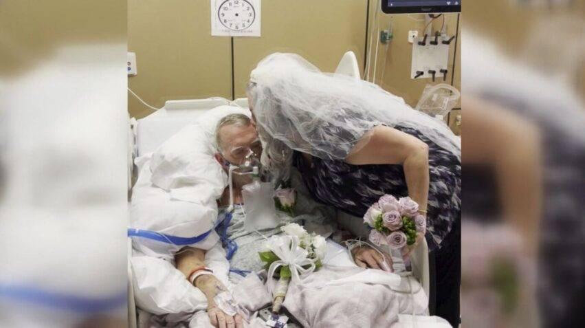nozze commoventi prima del decesso