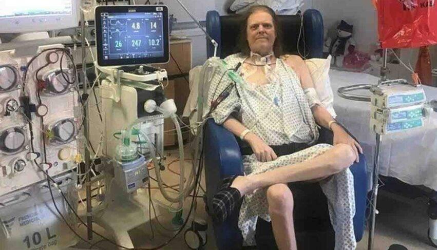 in ospedale da aprile 2020