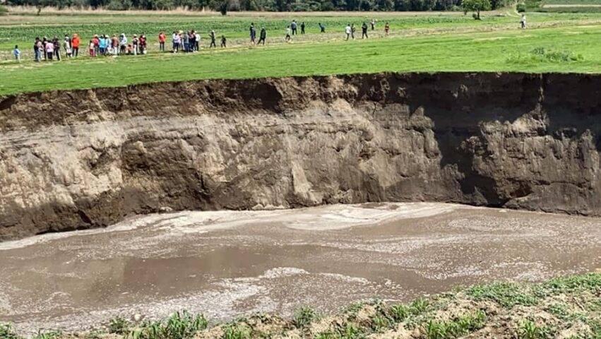 è profonda 20 metri