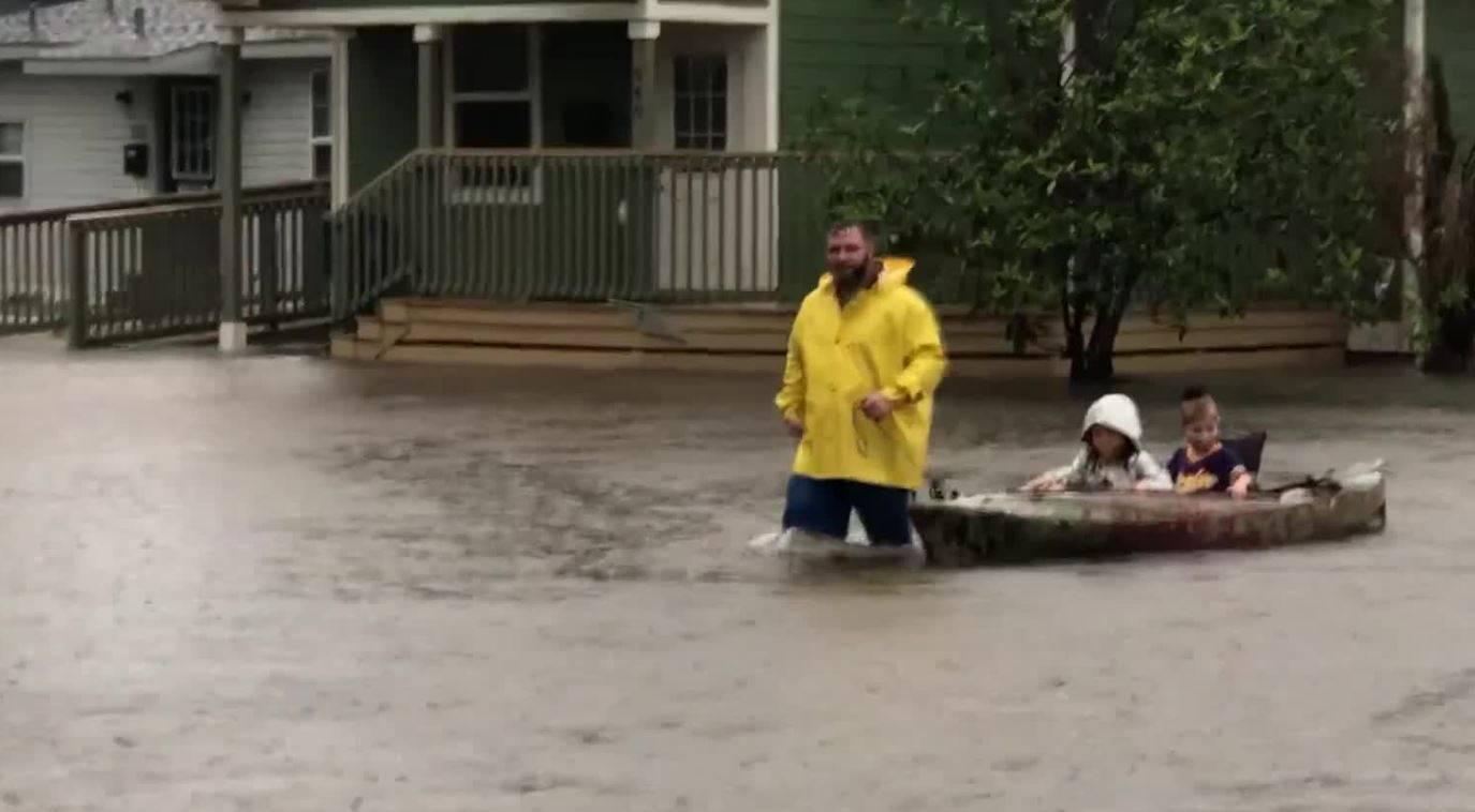inondazioni in lousiana