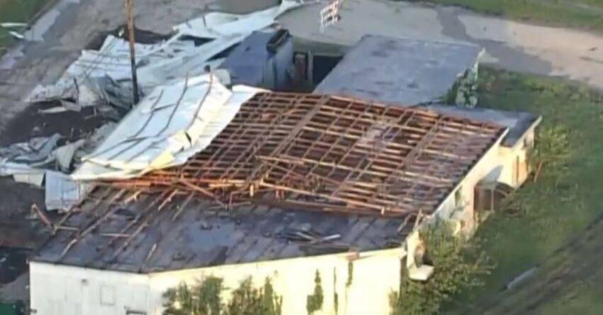 gravi danni alla struttura