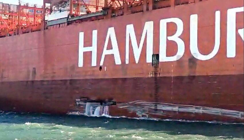 danni a nave e ormeggio