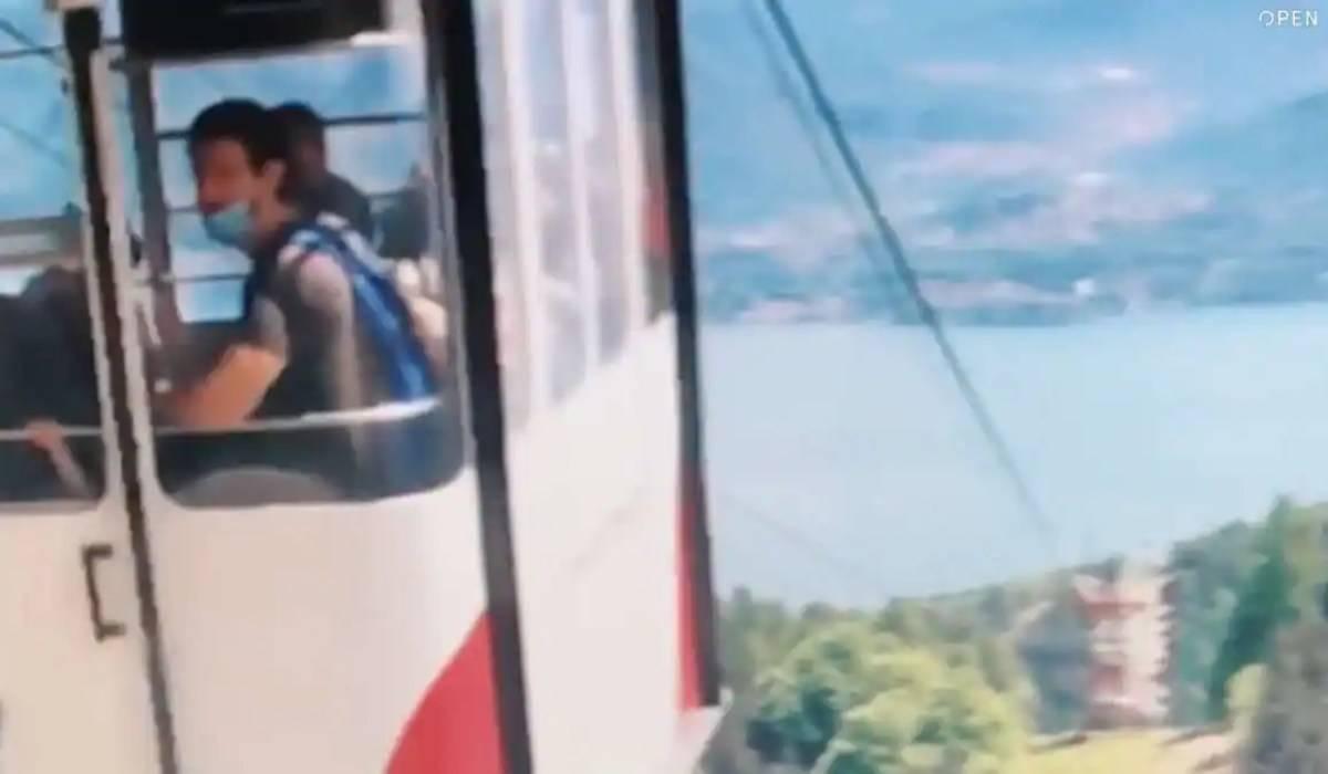 Tragedia funivia Stresa-Mottarone: il drammatico video dell'incidente. IMMAGINI FORTI