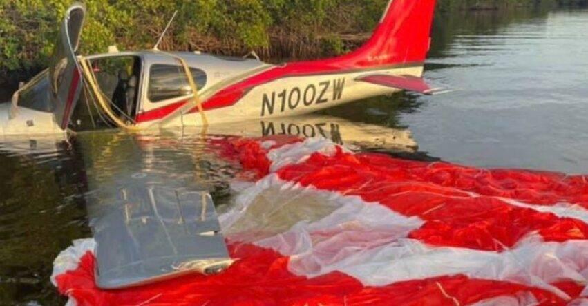 disastroso incidente aereo
