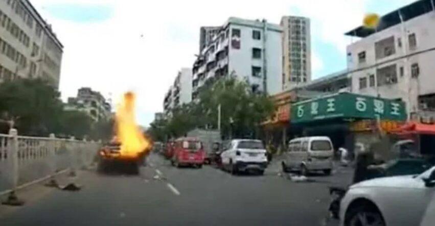 disastro in strada