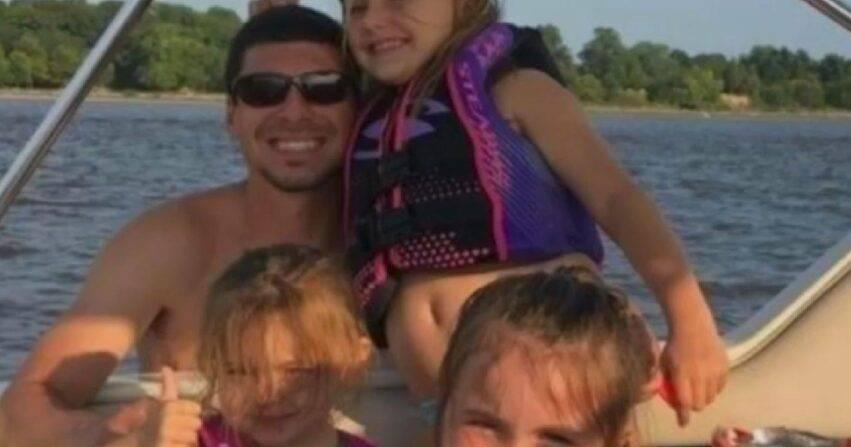 morti padre, due figlie e nipotina