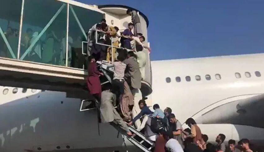 caos all aeroporto